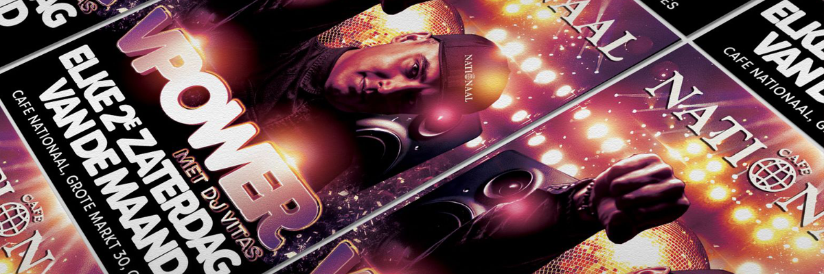 Elke tweede zaterdag van de maand: VPower met DJ Vitas